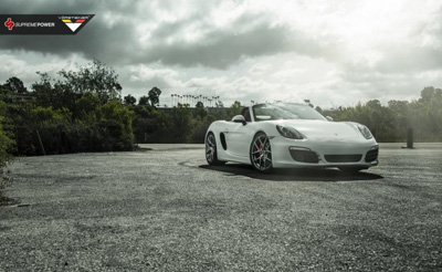 Porsche Boxster S от Supreme Power и Vorsteiner